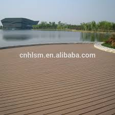 Easy To Install Outdoor Wpc Laminate Flooring