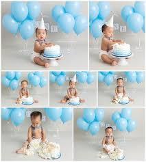 18929260 Boy Cake Smash Outfit Blue Boy Cake Smash Boy 1st