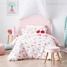 cherry baby bedlinen cot pink quilt cover set by adairs kids
