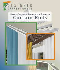 designer dry hardwre heavy duty curtain rod guide