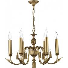 faux bamboo chandelier image 2 of 4 classic antique gold chandelier decorative leaf tassels