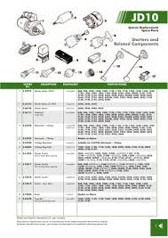 john deere electrics instruments page 97 sparex parts lists s 70296 john deere jd10 1