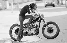 Jacquie and the bobber by Garrett Meyers, via 500px | My Style | Pinterest  | Bobbers, Bikers and Cars