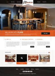 Cabinet Design Website Serious Elegant Entertainment Web Design For Shellstar