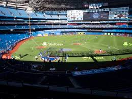 Rogers Centre Seating Chart Seatgeek
