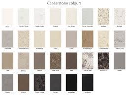 Quartz Stone Colour Chart Kitchen Benchtop Materials Albatross Cabinets