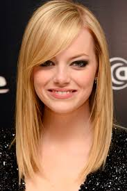 Shoulder Length Haircut With Side Bangs Hairstyles For Fine Hair