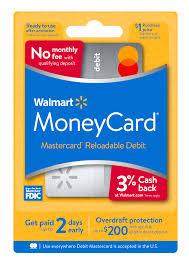 reloadable debit card account that