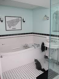 1930s Bathroom Design Finishing Touches Art Deco Lighting Tile Bath And Art Deco Kitchen