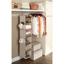 hanging closet organizer.  Hanging Better Homes And Gardens 6 Shelf Hanging Closet Organizer To I