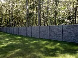 fences. Fine Fences SimTek Fence Installed In Islip NY On Fences