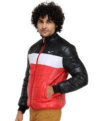 nike black and red full sleeves jacket