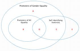 Gender Venn Diagram Feminism Is Complicated A New New Venn Diagram To Replace
