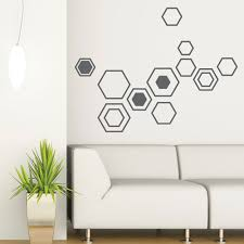 office wall stickers. Wall Decal Geometry Dark Grey Picture Collection Website Vinyl Sticker Office Wall Stickers