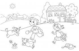 Small Picture Preschool Coloring Pages Summer Playing Fun Season Coloring