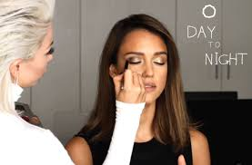 day to night makeup honest beauty s jessica alba gets glammed by celebrity makeup artist joyce bonelli glamour