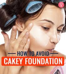how to avoid cakey foundation tricks