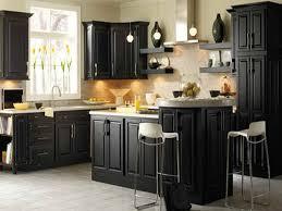 kitchen black painted cabinets for kitchen design