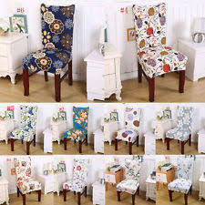 fl print chair covers home dining multifunctional spandex chair cover new e