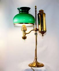 american student oil lamp now electrified for sale antiquescom classifieds antique office lamp