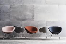 iconic designer furniture. Fritz Hansen Resurrected The Iconic Pot Chair, Designed By Arne Jacobsen In 1960 Designer Furniture