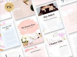 Ebook Template Canva Template Ebook By Pixistock Beauty Boss