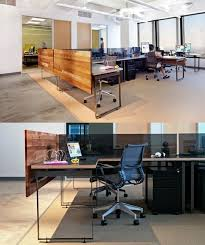 furniture office space. open plan office with wood panel think of board like this in front normal tables furniture space f