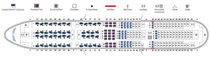 United Plane Seating Chart Boeing 777 200 777