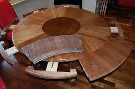 circular expanding table expandable table hardware expandable round table expandable round table plans