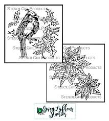 christmas card stencils gwens stencilgirl stencils christmas collection gwen lafleur