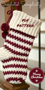 Crochet Christmas Stocking Pattern Awesome Jolly Textures Crochet Christmas Stocking Pattern Pay Pattern A