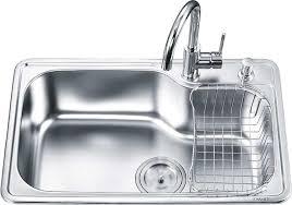 stainless steel kitchen sink top mount single basin oa 7246a