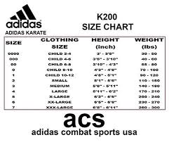 Adidas Youth Jacket Size Chart Adidas Clothing Size Chart Youth