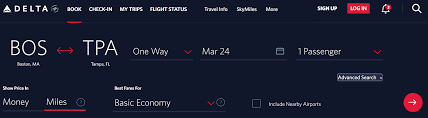 Finding Award Space On Delta Air Lines Travel Miles 101