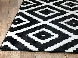 black and white runner rug black and white geometric rug summit black white geometric area rug target