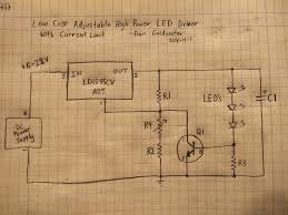 high power led driver circuits 12 steps pictures picture of the analog adjustable driver