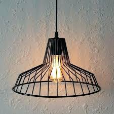 cage pendant lights overlap black cage pendant light