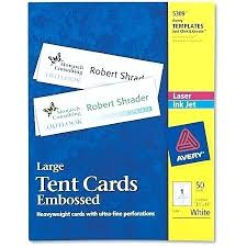 How To Create Table Tents In Word Tent Name Card Template Table Templates Word Blank Fold Cards Food