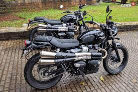 triumph street scrambler first ride review more capable more fun
