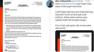 Pada surat tersebut, eiger menuliskan bahwa pihaknya merasa keberatan lantaran video ulasan yang salah satunya yakni arief muhammad. Viral Seorang Youtuber Diprotes Eiger Dan Dapat Surat Keberatan Karena Video Yang Dibuat Kurang Epik Helo Id