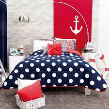 polka dot bedding.  Dot Teen Girl Bedding Navy Blue U0026 White Dots  Red Second View Guarantee Free  Shipping In Polka Dot O