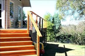 deck railing kits deck kits prefab decks home depot top redwood deck rail kit with black deck railing