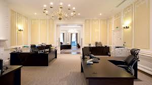 bank and office interiors. Save Image Qatar National Bank - London Office Interiors Fit-Out Open Plan Offices And 2