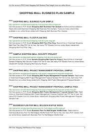 Business Plan Proposal Template Pdf Restaurant Business Proposal ...
