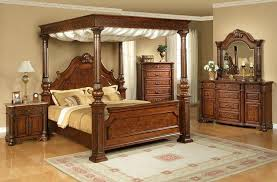 Canopy Bedroom Sets Attractive King Size Canopy Bedroom Sets Cherry ...