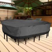 black furniture covers. outdoor patio furniture table and chairs cover 108 black covers
