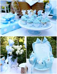 baby boy shower once in a blue moon theme