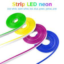 Dây Đèn LED Dẻo Đèn Neon 12V Không Thấm Nước Luces Led Nơ Dây Mờ Flex