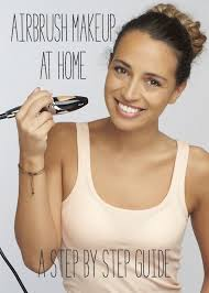 how to airbrush your own makeup at home code for airbrushing system from