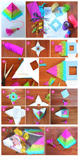 diy pinata step by step tutorial and printable template it s fully functioning with